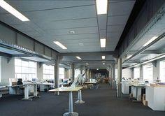 Acoustic ceiling ROCKFON (Color-all Mercury)