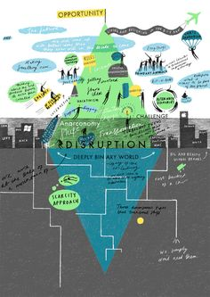 TED and If Conference Illustrations for Scriberia - Eve Lloyd Knight