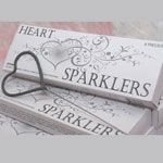 Sparklers in the shape of a heart!! Only 5.99 per box!