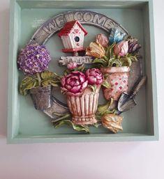 Grapevine Wreath, Grape Vines, Floral Wreath, Wreaths, 3d, Beauty, Home Decor, Craft, Floral Crown