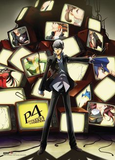 Persona 4. Based on a video game, and the anime is really good about following the storyline. A little dark. Watch if you like mystical and mystery along with a few just slice of life episodes.