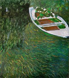The Row Boat, 1887, Claude Monet