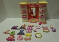 Fisher-Price Snap n Style Doll Accessories Lot & Light up Fashion Wardrobe