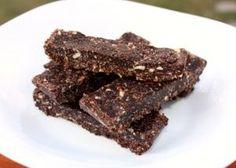 Raw kokosovo čokoládové tyčinky