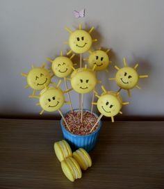 Sunshine macarons :)  http://www.facebook.com/pages/My-love-for-Macarons-Cupcakes-and-Cakes/209547205750481