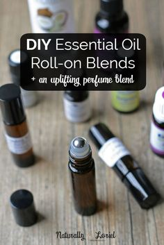 DIY essential oil roll-on blends are so easy to create. They make fantastic handmade gifts as well! Click for 3 essential oil perfume recipes.