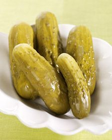 This delicious dill pickle recipe is courtesy of Tatiana Sorokko.