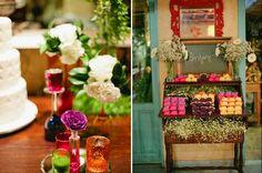 Mini casamento rústico e colorido   http://www.blogdocasamento.com.br/cerimonia-festa-casamento/decoracao-festa-igreja/mini-casamento-rustico-e-colorido/