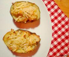 Πατάτες γεμιστές με φέτα
