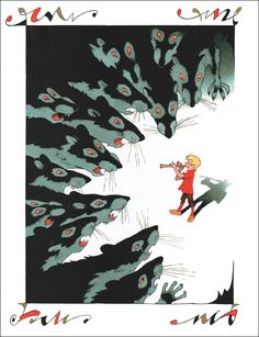The Wonderful Adventures of Nils by Selma Lagerlöf.  Illustrators: Erik Bulatov, Oleg Vasiliev.