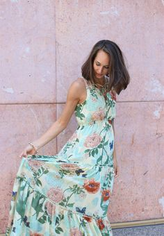 S h e maxi dress anthropologie