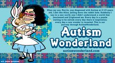 Autism Wonderland. Repinned by SOS Inc. Resources.  Follow all our boards at http://Pinterest.com/sostherapy for therapy resources.