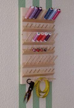 Resultado de imagen para organizador de hilos de costura