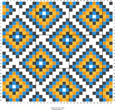 Ideas crochet patterns tapestry cross stitch for 2019 Tapestry Crochet Patterns, Weaving Patterns, Quilt Patterns, Cross Stitch Pattern Maker, Cross Stitch Patterns, Cross Stitch Geometric, Knitting Charts, Knitting Patterns, Graph Paper Art