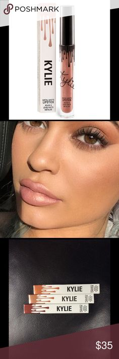 Kylie Single Sold out color HEIR Authentic Kylie cosmetic metal color Heir sold out on Kylie website but you can get it here Full size brand knew never opened or swatched Kylie Cosmetics Makeup Lipstick