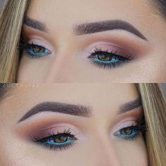 Super makeup tutorial blue eyeshadow cut crease 32 Ideas Super Make-up Tutorial Blue Eyeshadow Day Makeup, Eye Makeup Tips, Smokey Eye Makeup, Skin Makeup, Eyeshadow Makeup, Beauty Makeup, Makeup Ideas, Blue Eyeshadow, Makeup Tutorials