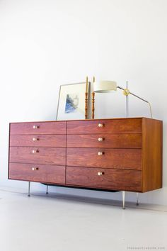 """George Nelson Thin Edge Dresser for Herman Miller """"5221"""" 