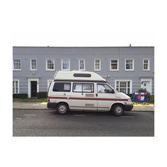 Campervan #highbury #islington #london#carporn #vintage #greyhouses