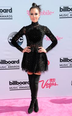 Jessica Alba veste Zuhair Murad no Billboard Music Awards