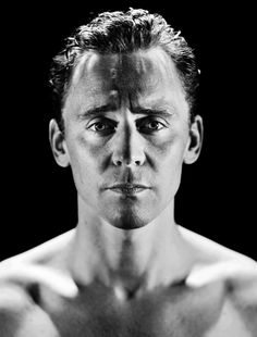 Tom Hiddleston in Out Of Darkness by Phil Sharp [UHQ] This will be a great study in shadows/light on form.