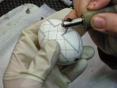 Precision Art Studio Blog: Ukrainian Egg Demonstrations for 2014 by Theresa S...