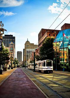 Downtown Buffalo, NY.
