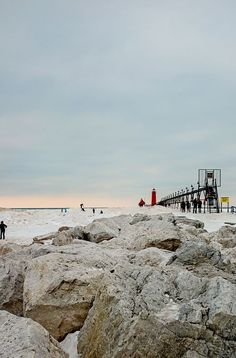 Icy Pier Photo by Ashley Clark -- National Geographic Your Shot
