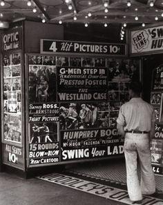 Main Street, Los Angeles, 1938