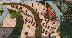 """This is why I love Runescape. The community."" We agree, @Tyler Sunderland! Nowhere else would you get 40-odd people doing simultaneous press-ups (except in the Army or at Bootcamp).   #RuneScape"