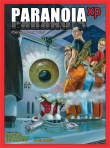 The latest edition of the classic RPG Paranoia. Stay alert! Trust no one! Keep your laser handy!