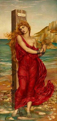 The Martyr (Nazuraea), 1880 by Evelyn De Morgan