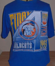 1578820c vintage 1993 Kentucky Wildcats Final Four t shirt Medium by vintagerhino247  on Etsy Final Four,
