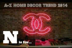 A-Z Home Decor Trend 2014: Neon Signs - Alice T. Chan | HGTV Host and Interior Designer | Alice T. Chan As Seen On HGTV | San Francisco Bay Area Interior Renovation and Design Specialist