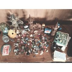 eclecticalien:  Here is my altar since moving ^_^