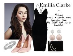 """""""Emilia"""" by likeahboss ❤ liked on Polyvore featuring Boohoo, Topshop, Jankuo and Lagos"""