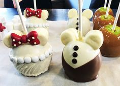 Valentine's DIY: Make Disney Bride & Groom Candy Apples from Walt Disney World Resort «  Disney Parks Blog
