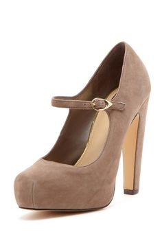 Nude Mary Jane Pumps / DV by Dolce Vita