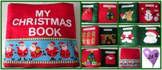 christmas quiet book $60