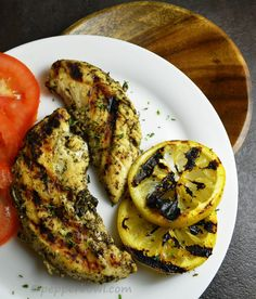 This grilled lemon chicken recipe is super simple to make. Felt tired of non-stop ingredient listed recipes?  Can you imagine a recipe requires very few basic ingredients?