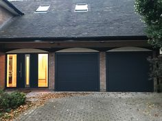 Doors with a personal touch Matching design entrance & garage doors from one manufacturer Entrance Doors, Garage Doors, Home Photo, Gate, Outdoor Decor, Touch, Design, Home Decor, Entry Doors