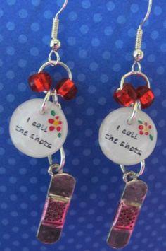 Nurse earrings