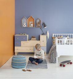 Her er din neste veggfarge - Fargesetting - ifi. Kids Bedroom, Baby Room, Toddler Bed, Kids Rugs, Children, Interior, House, Furniture, Design