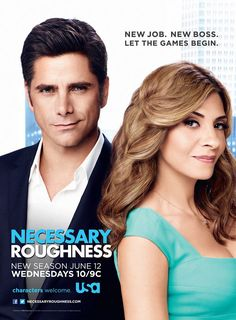 Necessary Roughness Season 3 poster