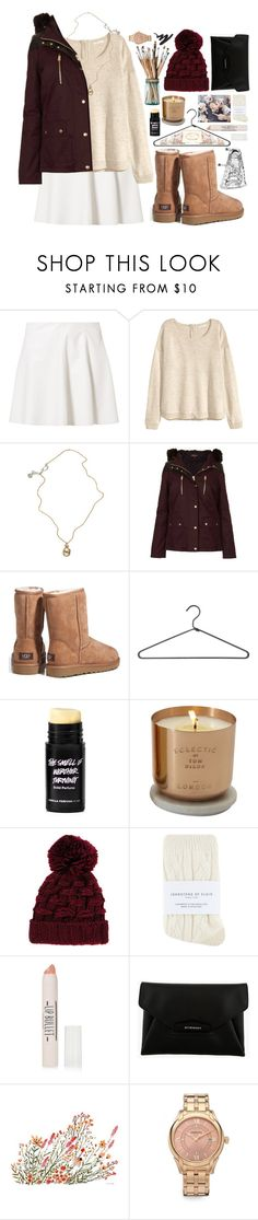 """""""/haven't had a dream in a long time/you see, the life I've had could turn a good man bad/so please please please/let me let me let me/let me/get what i want/this time/lord knows it would be the first time/"""" by kappucino ❤ liked on Polyvore featuring Vero Moda, H&M, Jessica de Lotz Jewellery, Topshop, UGG Australia, PERIGOT, Eclectic by Tom Dixon, DK, River Island and Johnstons"""