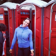 """If you've ever experienced that unbearable feeling of having to """"go"""" in the middle of a run, you now make going number two your number one priority. All the stars need to be aligned for this magical potty trip to happen, so here are some ways to prevent poop anxiety and to ensure you won't need an emergency visit to the porta-potty during a race."""