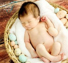 newborn photographer    happy easter