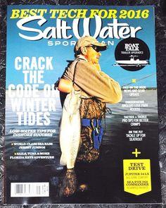 SALT WATER SPORTSMAN MAGAZINE  January 2016
