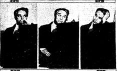 Chaplin on the witness stand during the Charles Amador trial, Feb. 26, 1925