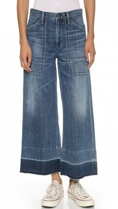 The Story Behind the Rachel Comey Jeans Everyone Is Obsessed With via @WhoWhatWear