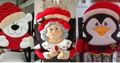 Bienvenidas a este curso donde aprenderemos a como hacer hermosos forros de sillas ocupando solo los moldes que te dejaremos a... Elf On The Shelf, Margarita, Christmas Holidays, Ronald Mcdonald, Disney Princess, Holiday Decor, Diana, Home Decor, Mary